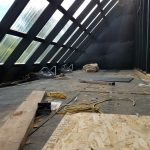 Solar Kiln - inside top